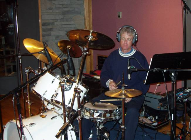 Tom Grignon Drum Recording Photo 1